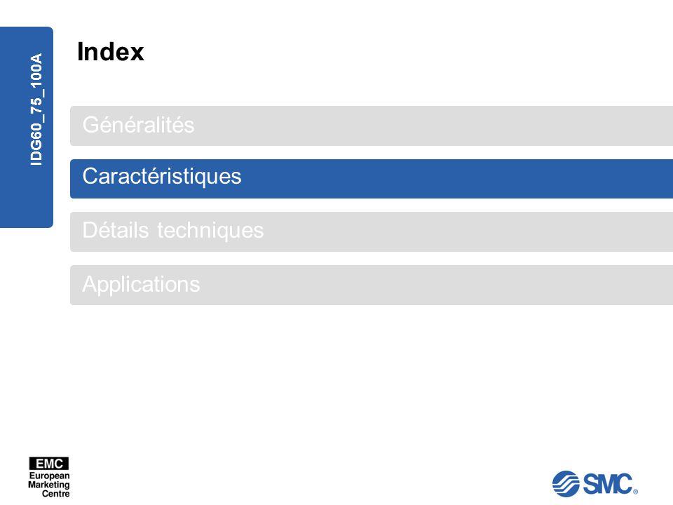 Index Généralités Caractéristiques Détails techniques Applications