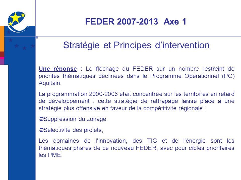 Stratégie et Principes d'intervention