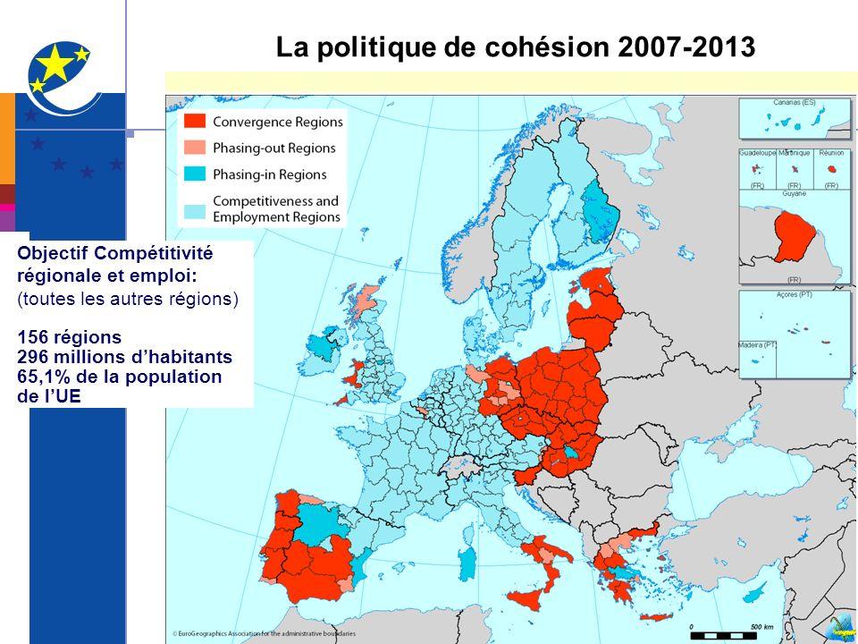 La politique de cohésion 2007-2013
