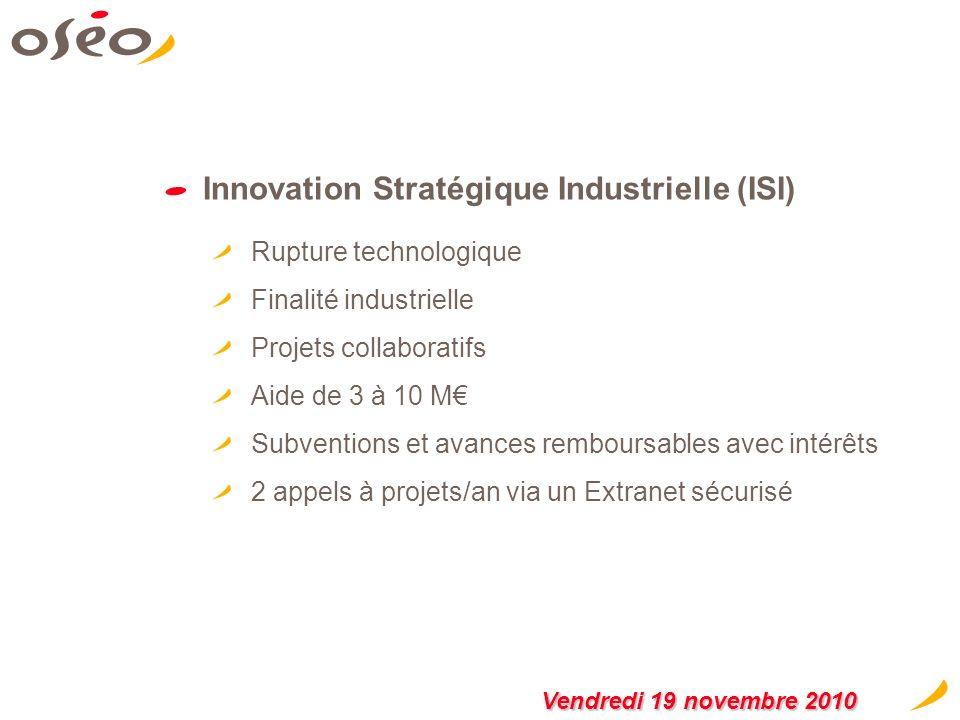 Innovation Stratégique Industrielle (ISI)