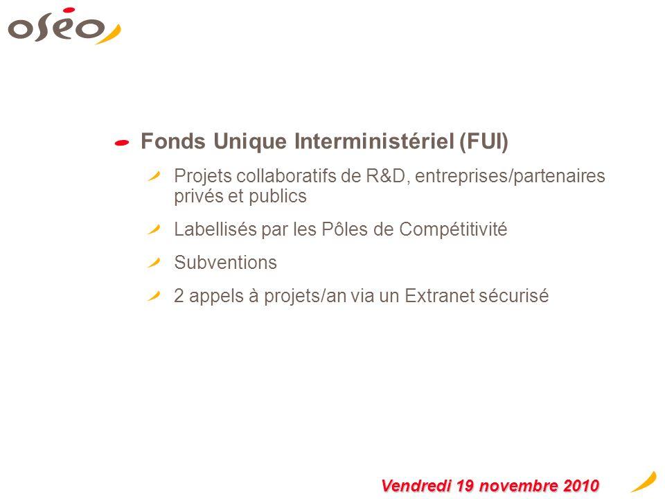 Fonds Unique Interministériel (FUI)