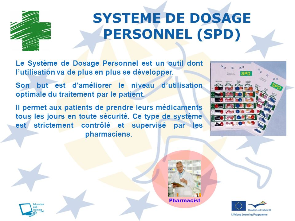 SYSTEME DE DOSAGE PERSONNEL (SPD)