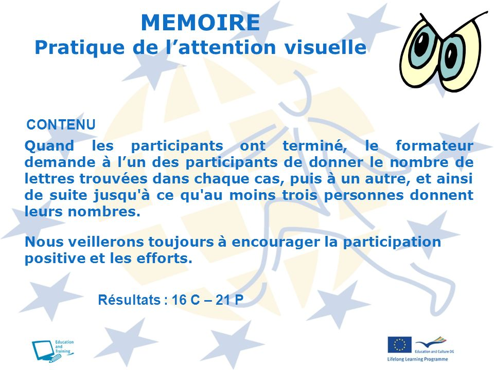 MEMOIRE Pratique de l'attention visuelle