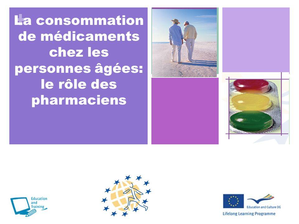 La consommation de médicaments chez les personnes âgées: le rôle des pharmaciens