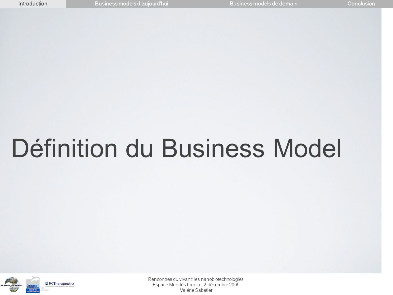 Définition du Business Model