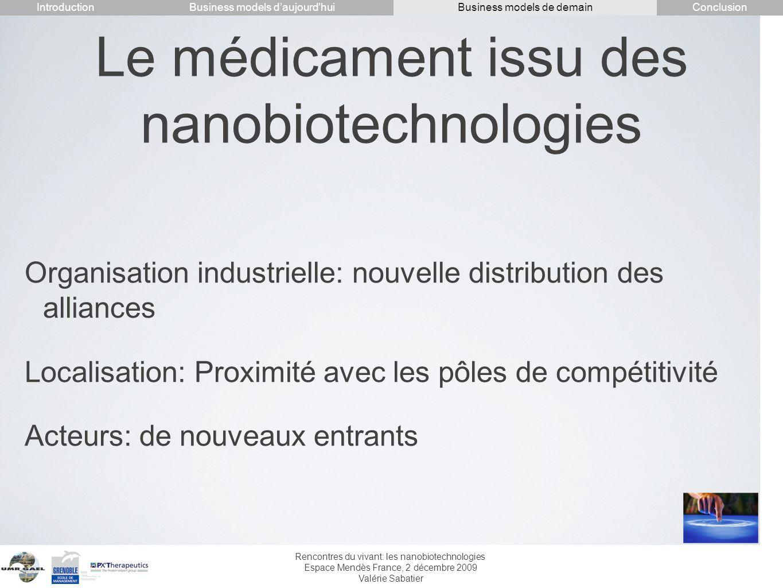Le médicament issu des nanobiotechnologies