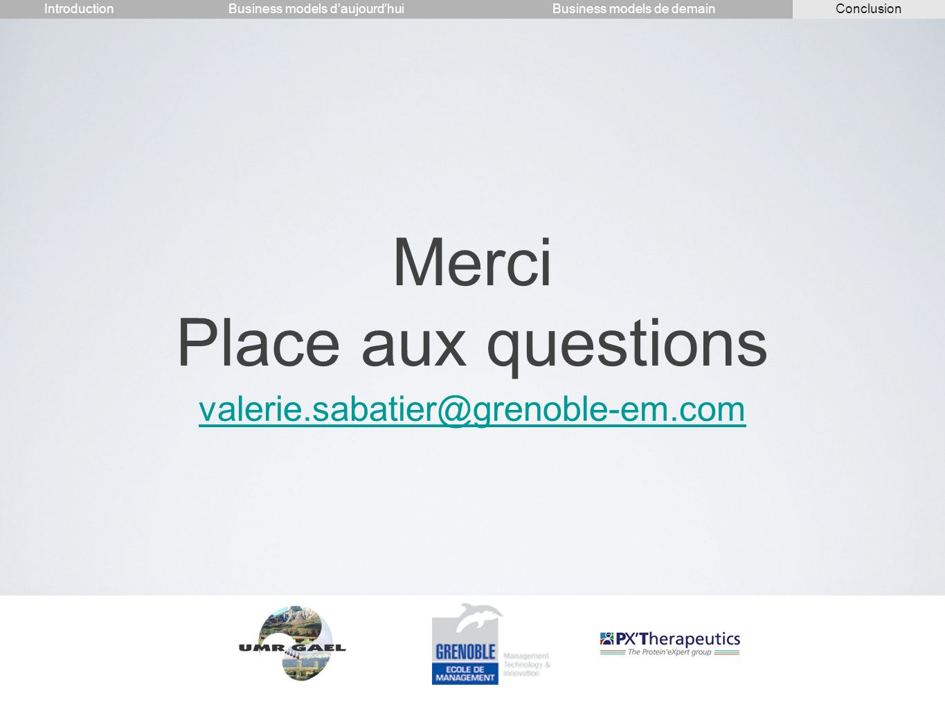 Merci Place aux questions