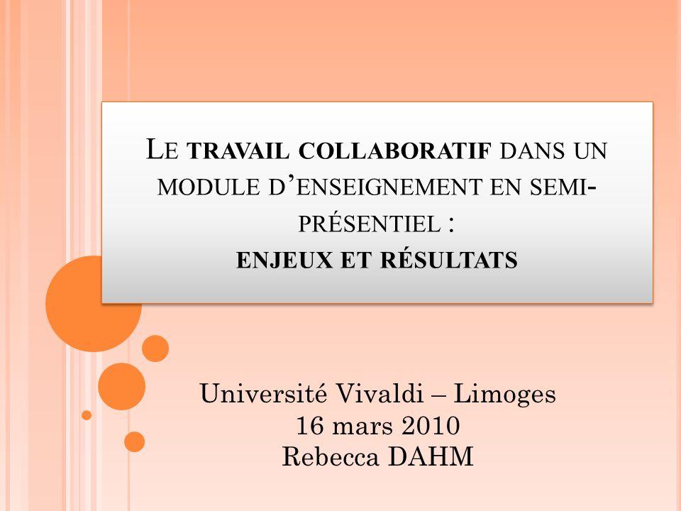 Université Vivaldi – Limoges