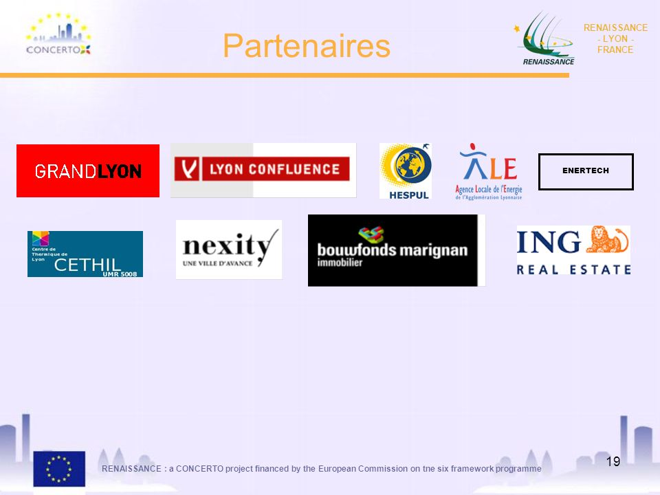 Partenaires ENERTECH