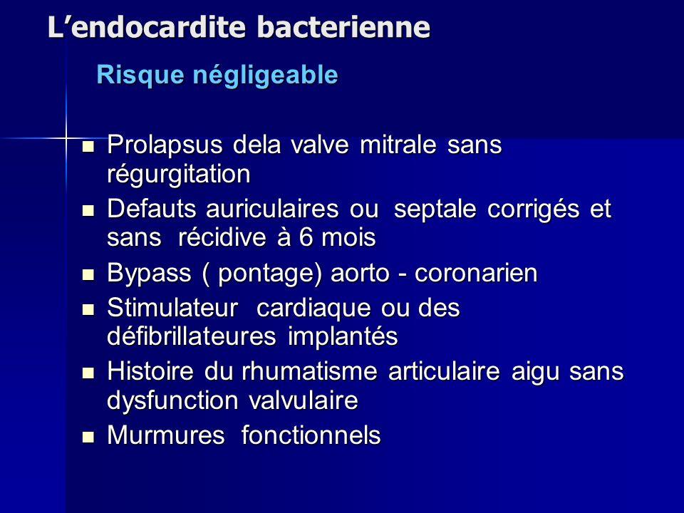 L'endocardite bacterienne