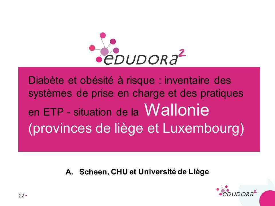 Scheen, CHU et Université de Liège