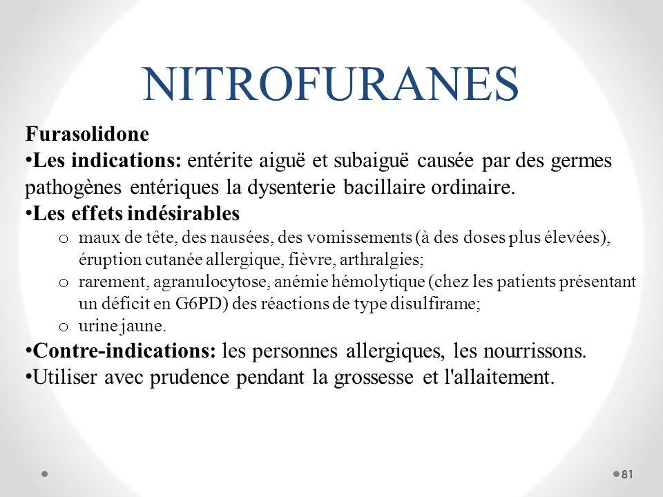 NITROFURANES Furasolidone