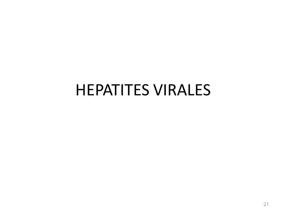 HEPATITES VIRALES