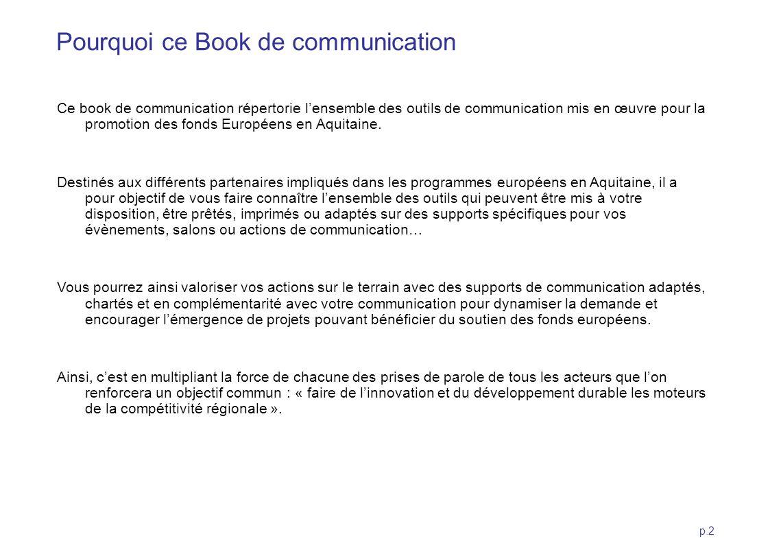 Pourquoi ce Book de communication