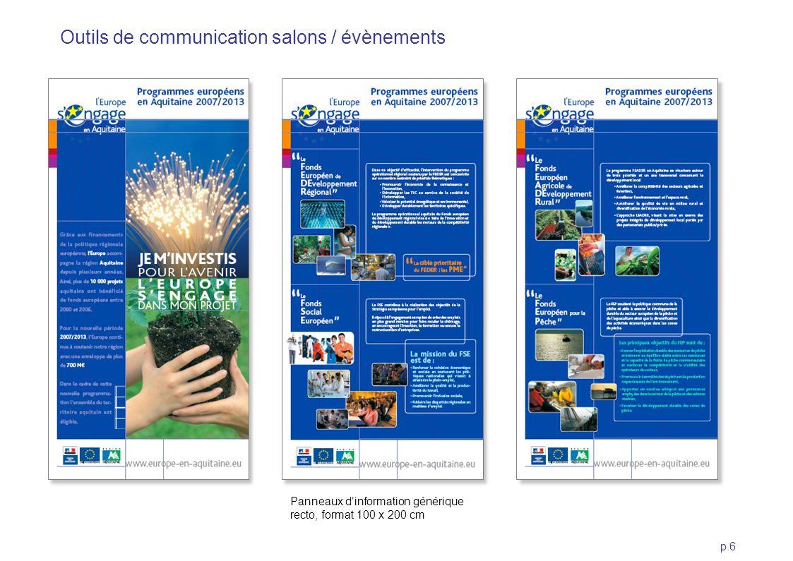 Outils de communication salons / évènements