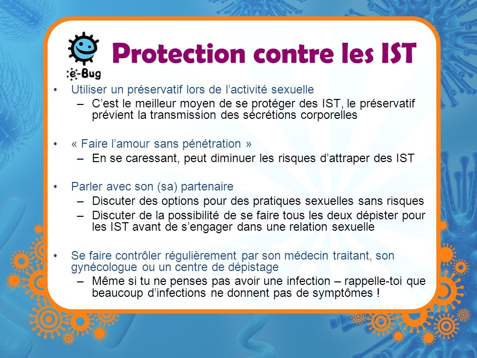 Protection contre les IST