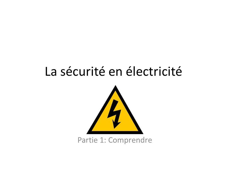 La sécurité en électricité
