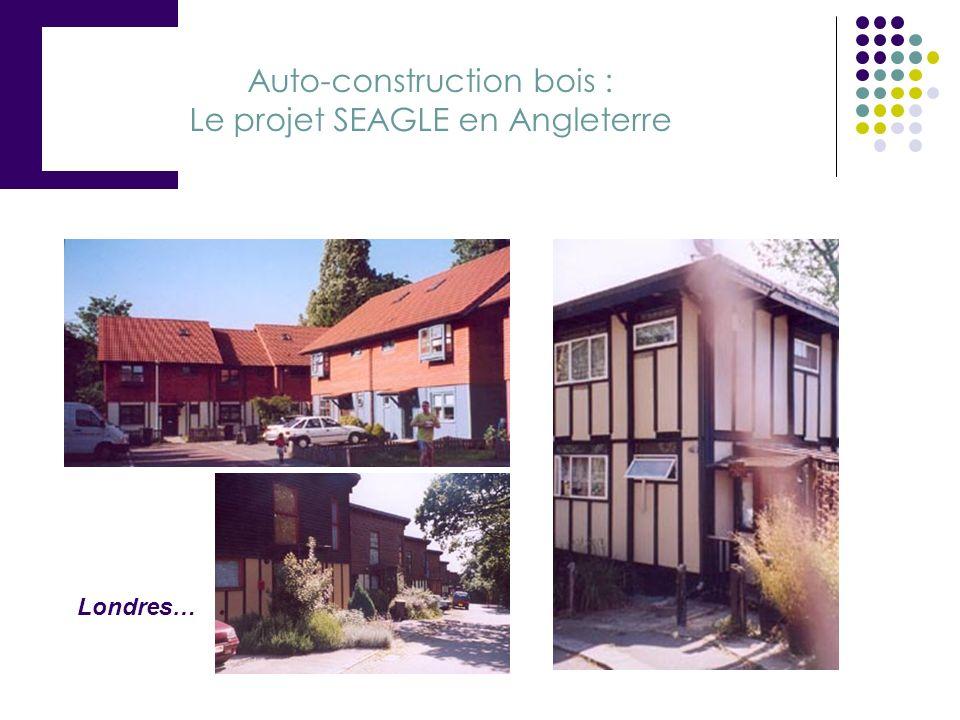 Auto-construction bois : Le projet SEAGLE en Angleterre