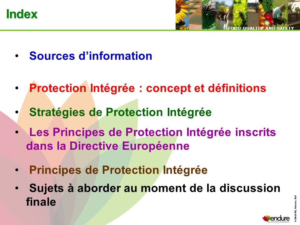 Index Sources d'information
