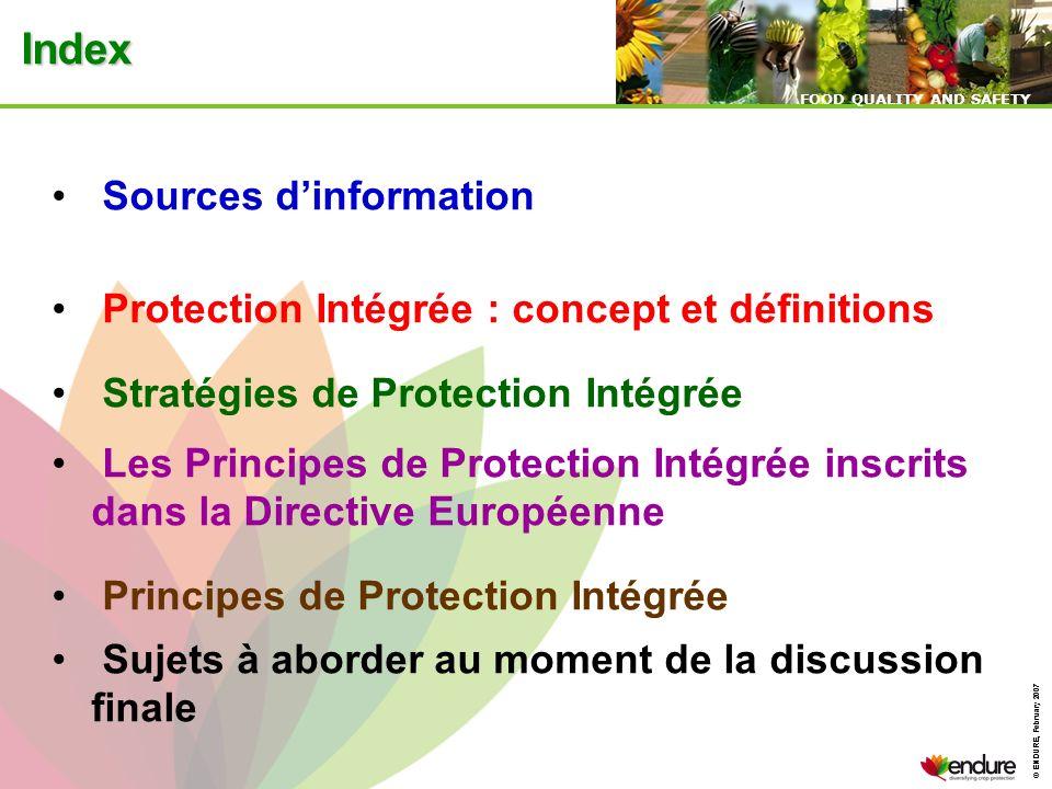 Index Sources d'information