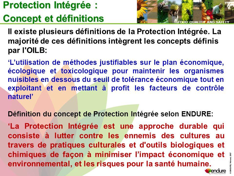 Protection Intégrée : Concept et définitions