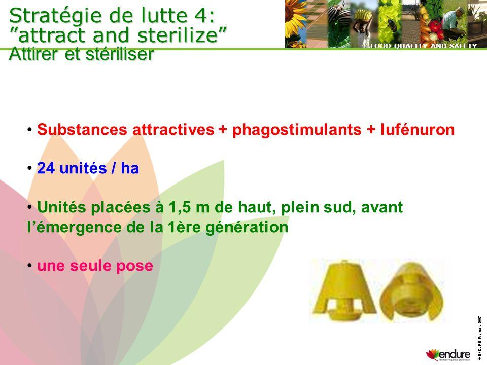 Stratégie de lutte 4: attract and sterilize