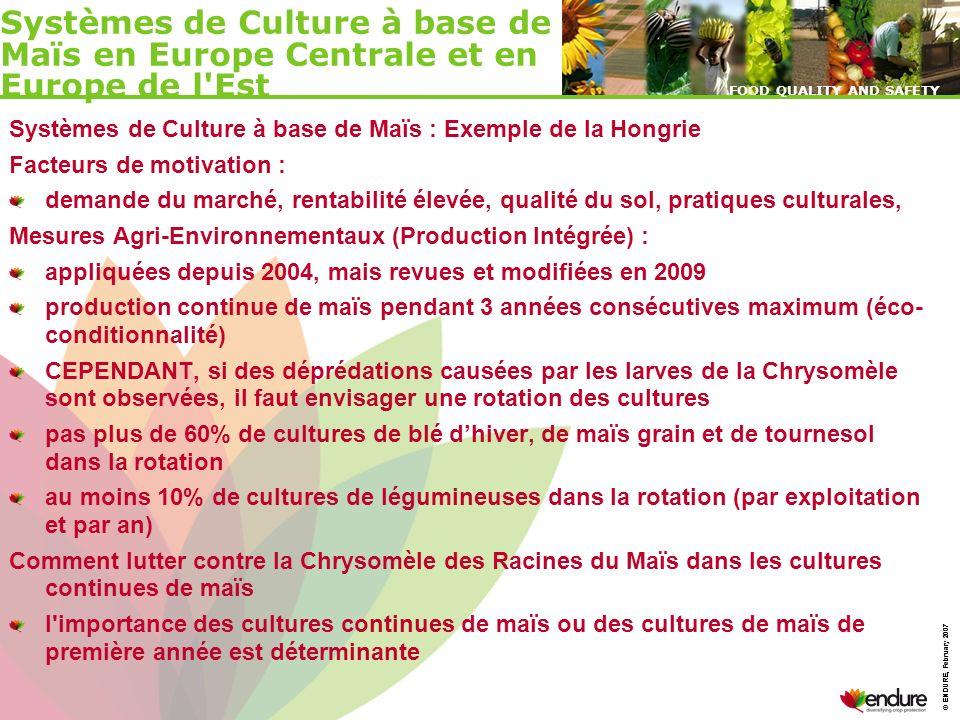 Systèmes de Culture à base de Maïs en Europe Centrale et en Europe de l Est