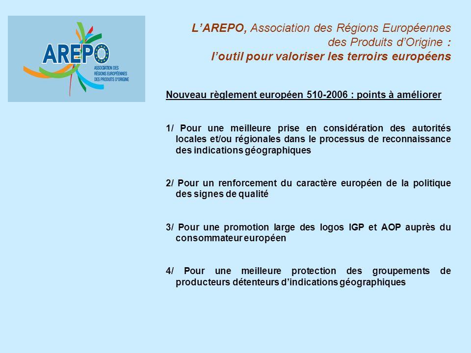 L'AREPO, Association des Régions Européennes des Produits d'Origine : l'outil pour valoriser les terroirs européens