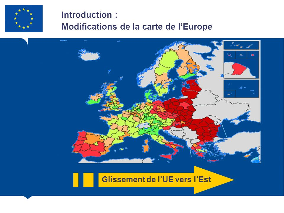 Glissement de l'UE vers l'Est