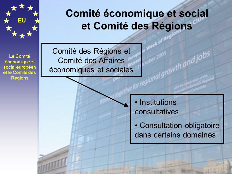 Comité économique et social et Comité des Régions