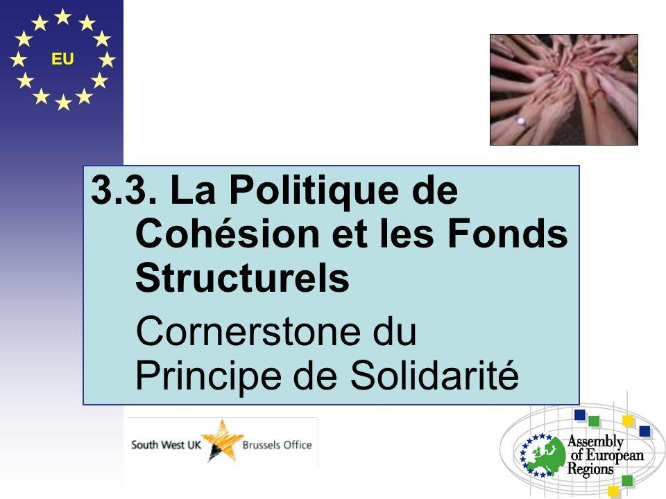 3.3. La Politique de Cohésion et les Fonds Structurels