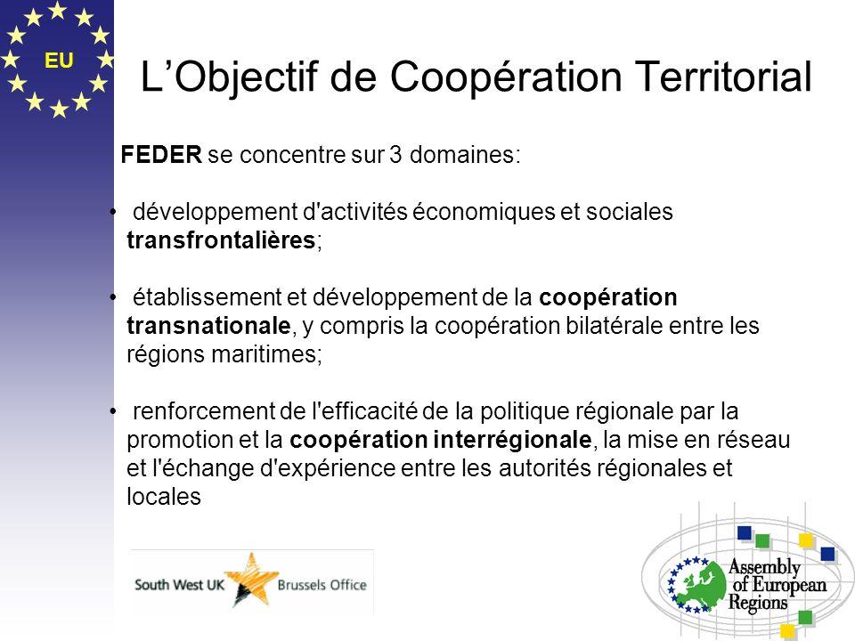 L'Objectif de Coopération Territorial