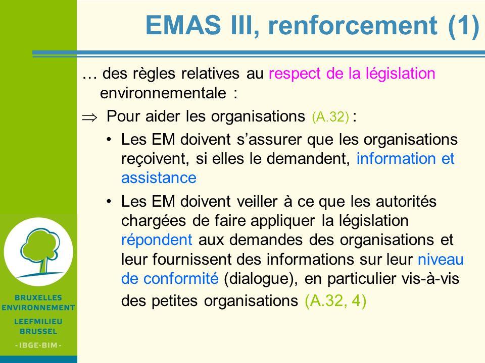 EMAS III, renforcement (1)