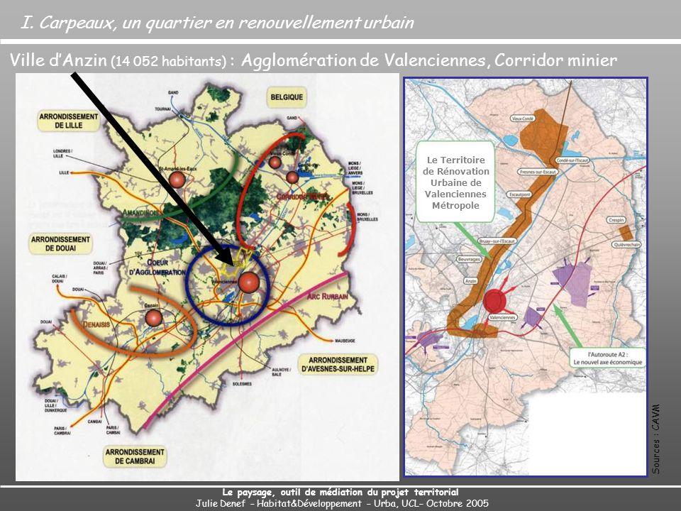 Le Territoire de Rénovation Urbaine de Valenciennes Métropole
