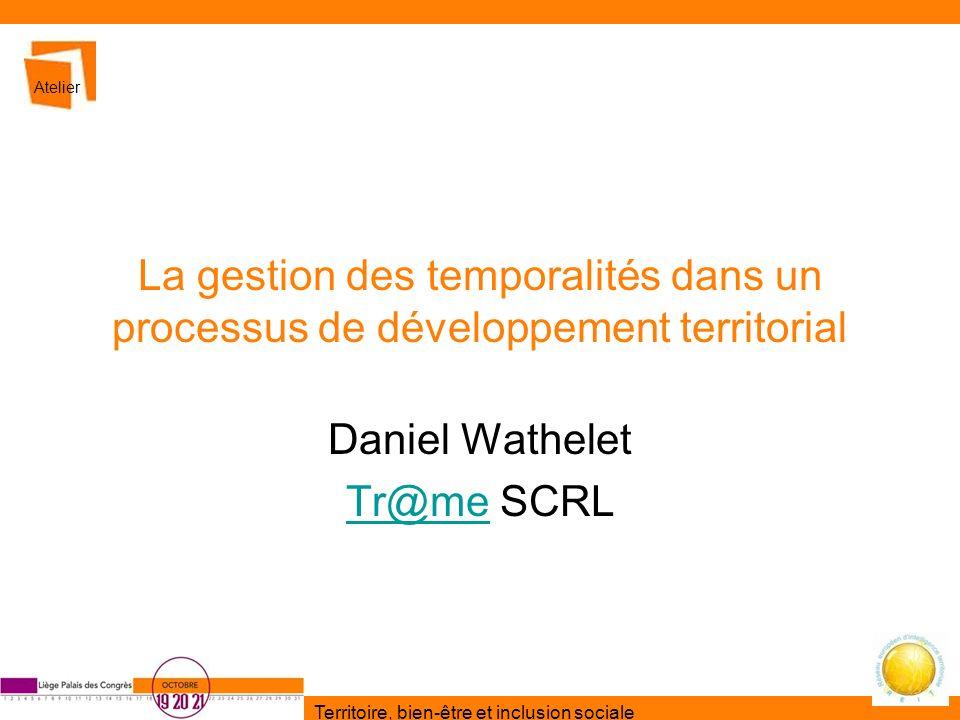 Daniel Wathelet Tr@me SCRL