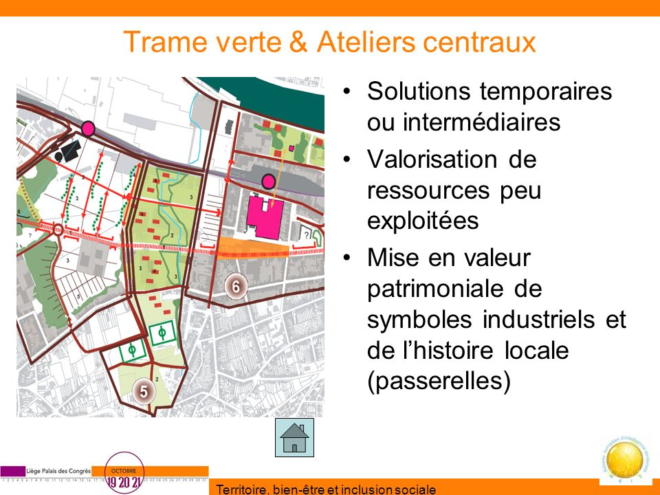 Trame verte & Ateliers centraux