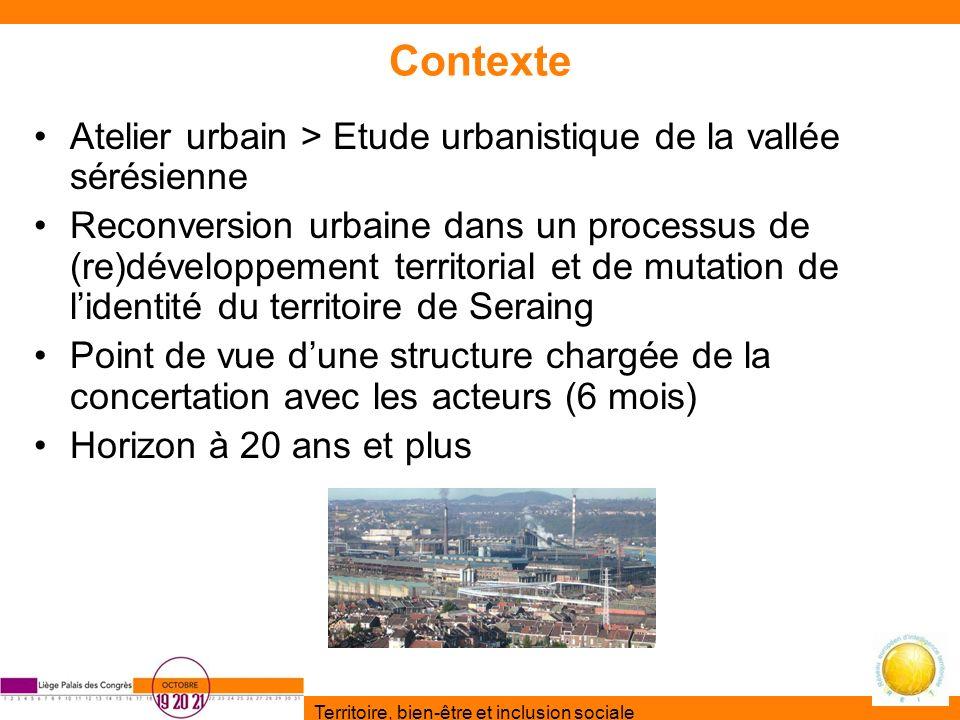Contexte Atelier urbain > Etude urbanistique de la vallée sérésienne.