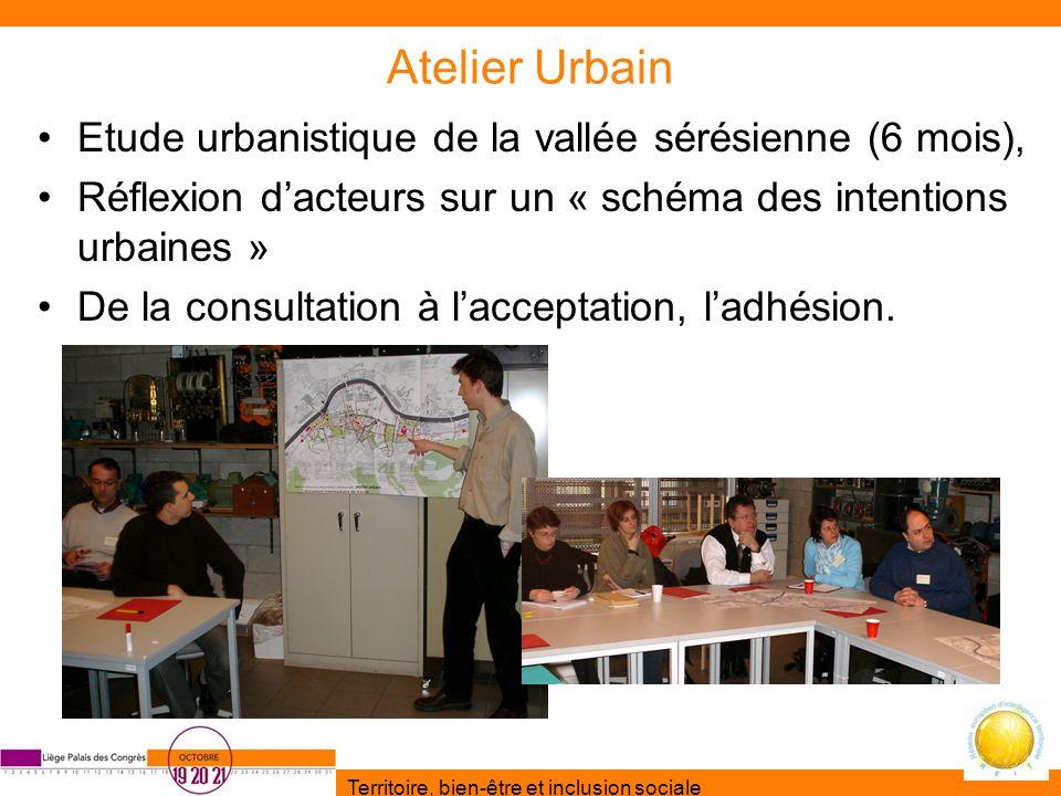 Atelier Urbain Etude urbanistique de la vallée sérésienne (6 mois),