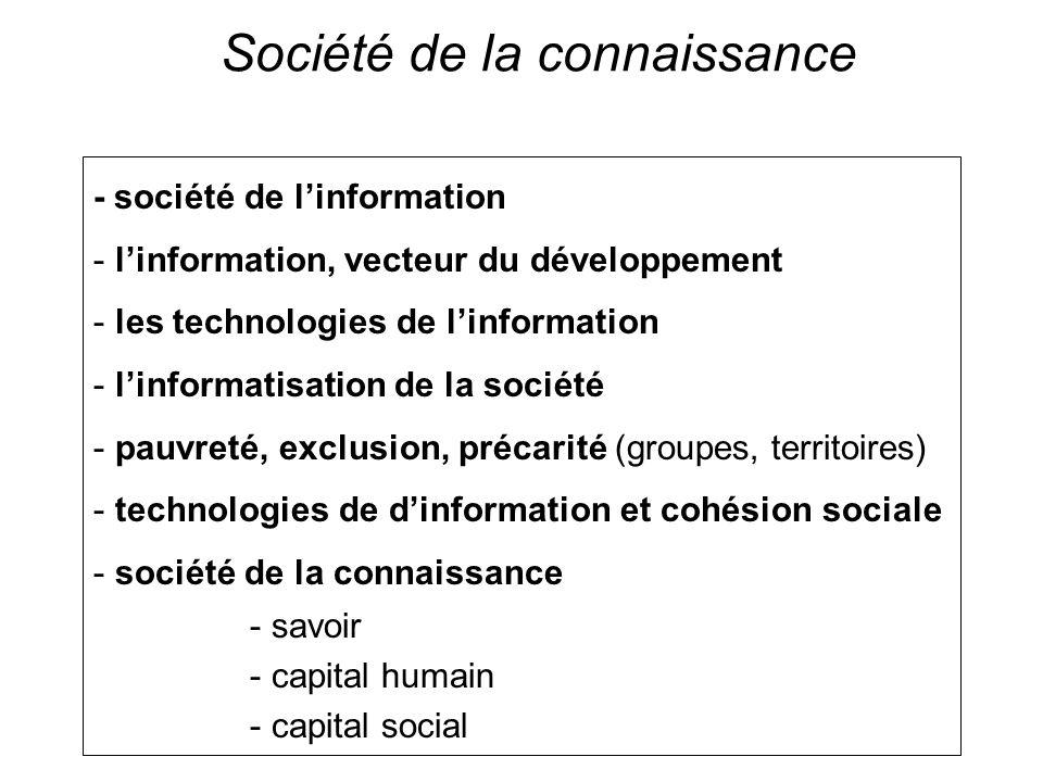 Société de la connaissance