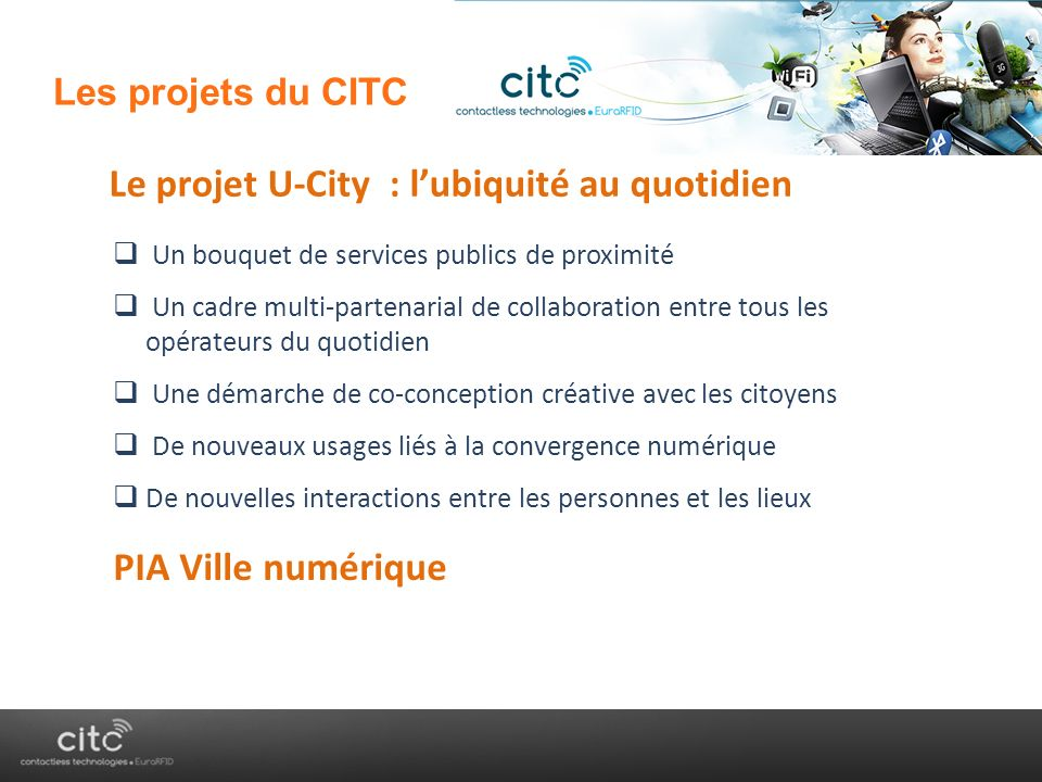 Le projet U-City : l'ubiquité au quotidien
