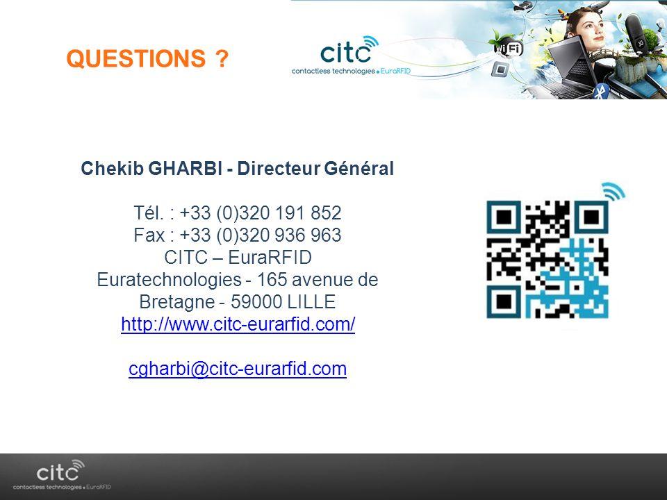 Chekib GHARBI - Directeur Général