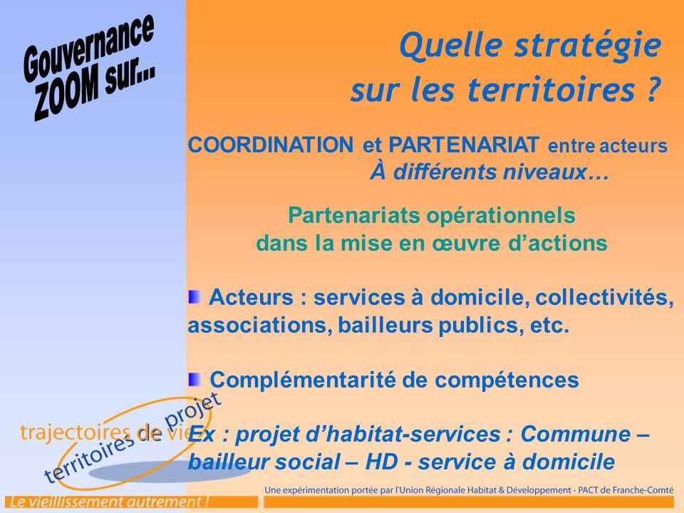 Partenariats opérationnels dans la mise en œuvre d'actions
