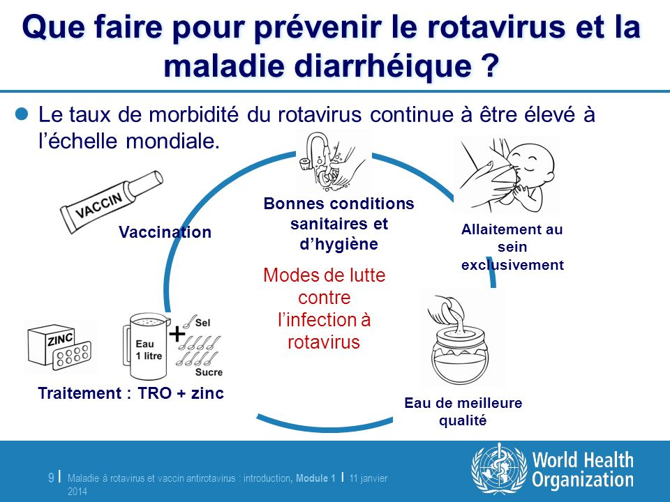 Que faire pour prévenir le rotavirus et la maladie diarrhéique