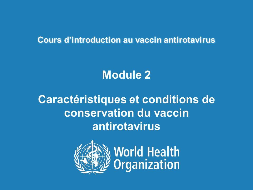 Cours d'introduction au vaccin antirotavirus