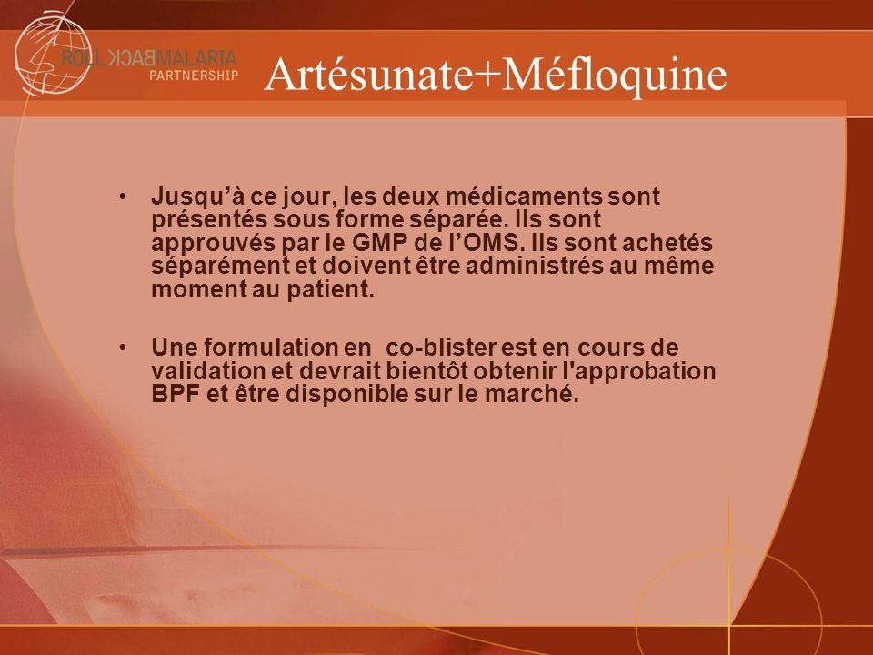 Artésunate+Méfloquine