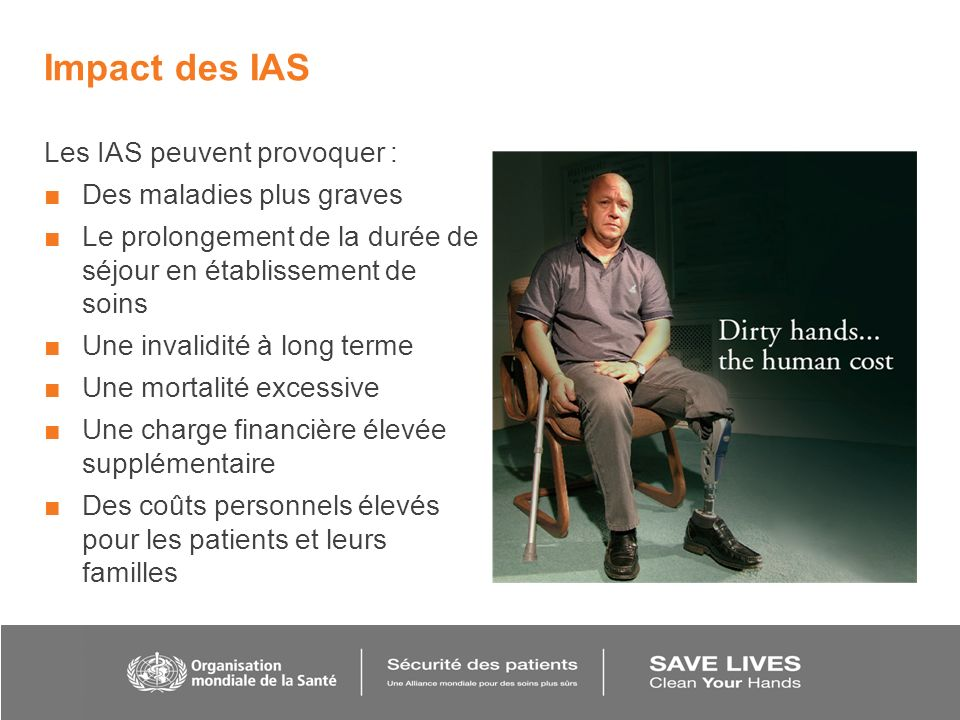 Impact des IAS Les IAS peuvent provoquer : Des maladies plus graves