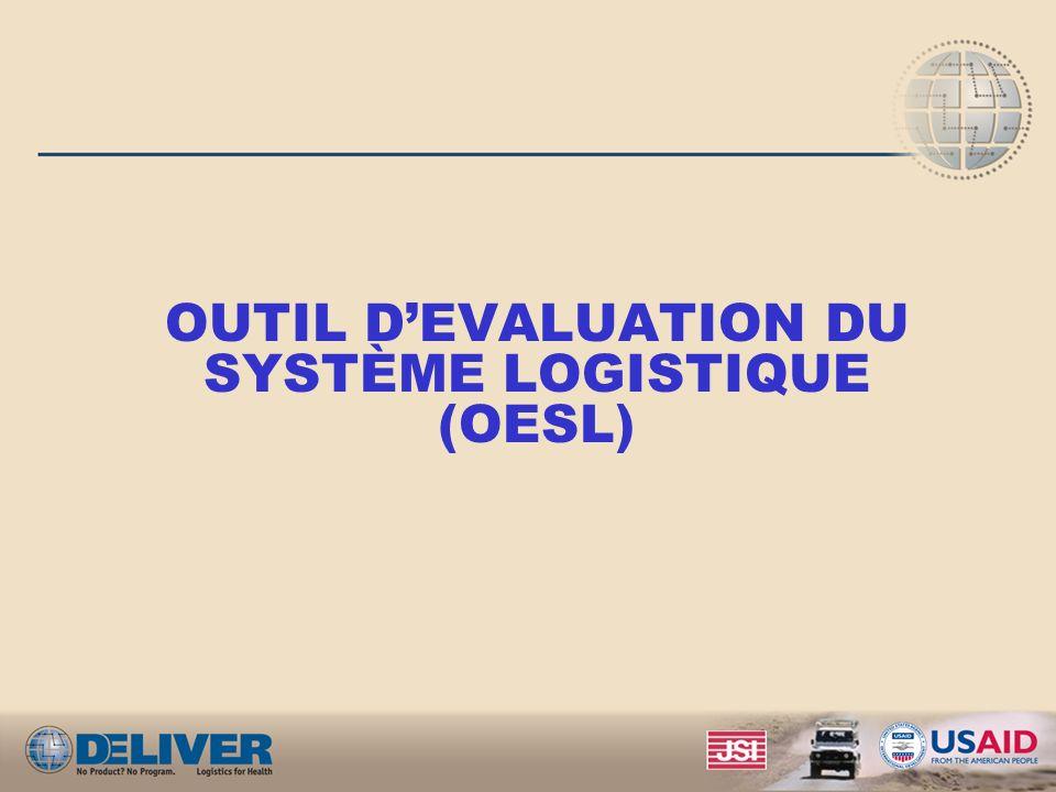 OUTIL D'EVALUATION DU SYSTÈME LOGISTIQUE (OESL)