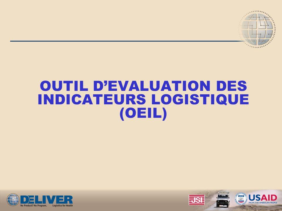 OUTIL D'EVALUATION DES INDICATEURS LOGISTIQUE (OEIL)