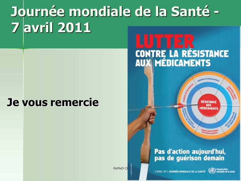 Journée mondiale de la Santé - 7 avril 2011