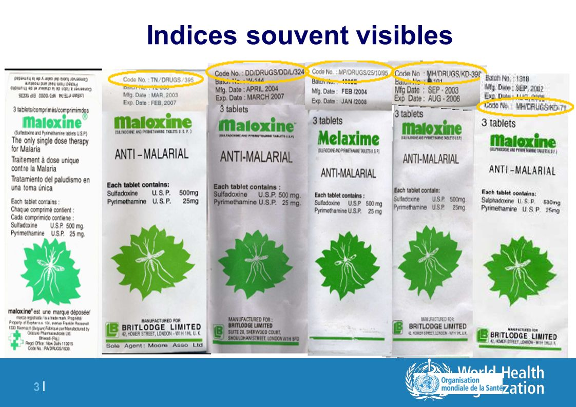 Indices souvent visibles